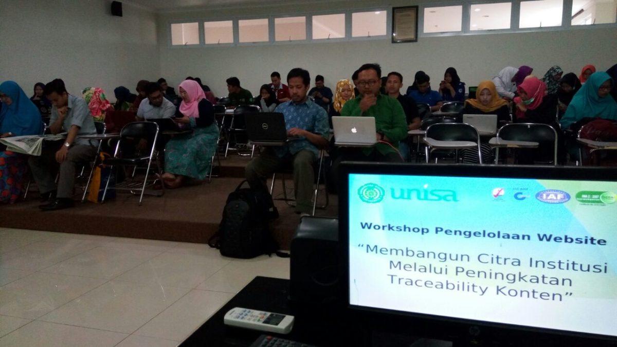 Workshop Pengelolaan Web