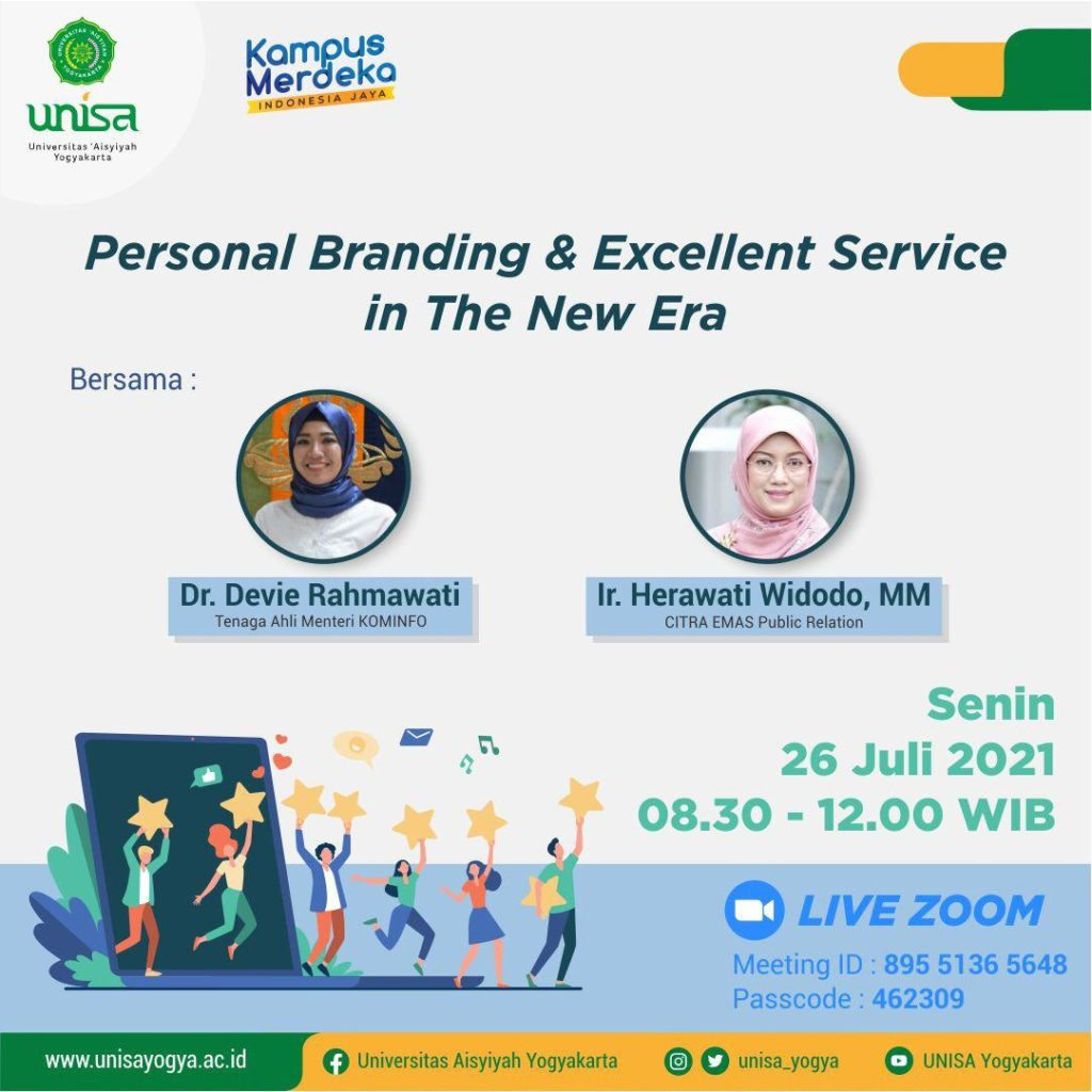 Personal Branding & Excellent Service in the New Era