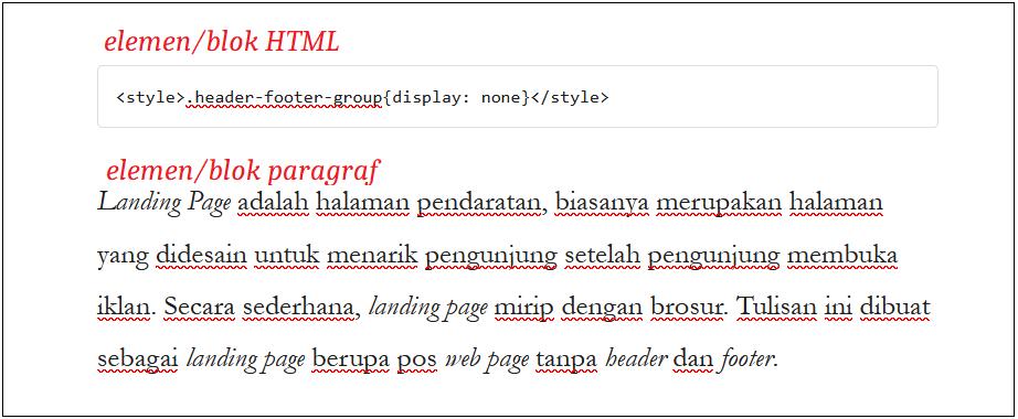 elemen blok html